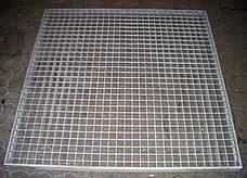 mit Ultraschall-Reinigung industriell gereinigtes Gitterrost von K&B Industrieservice