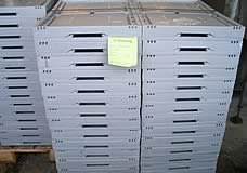 Klappbehälter aus Kunststoff nach der Reinigung