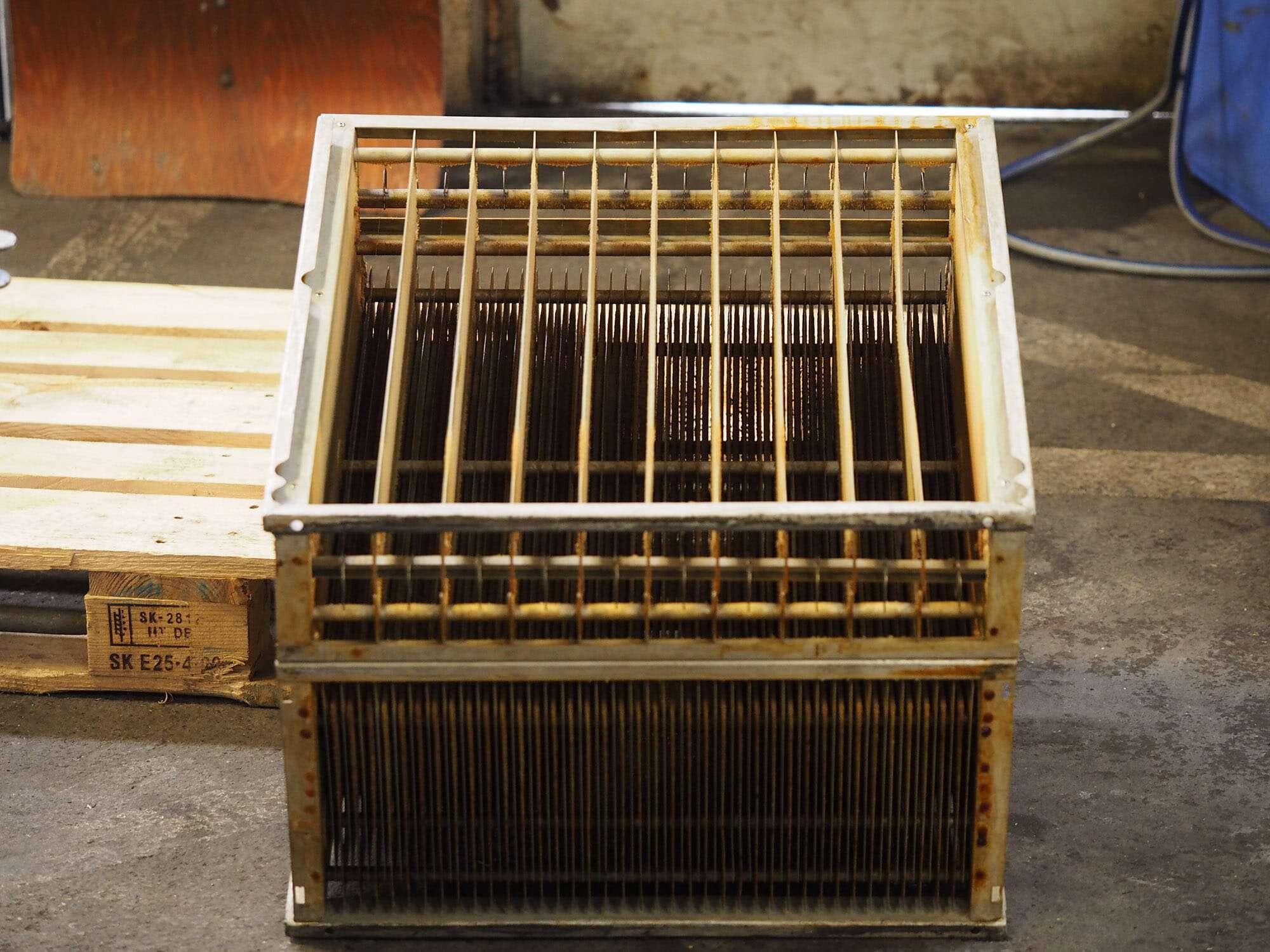 K&B Industrieservice - industrielle Filterreinigung mit Spritzreinigung oder Ultraschallreinigung