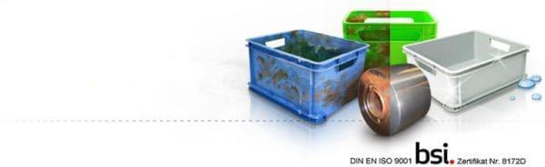 K&B Industrieservice. Reinigung von Behältern und Metall. Entlacken, Entzundern.